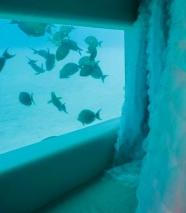 Hotel The underwater spa at Huvafen Fushi resort, Maldives