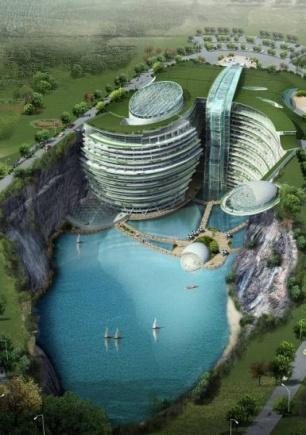 Songjiang Hotel, Cina