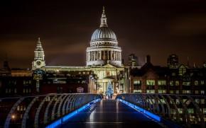 St Paul london millenium bridge